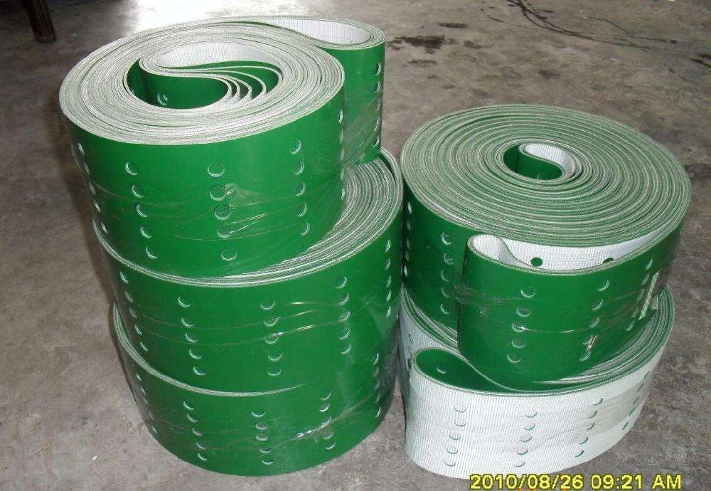 PVC输送带打孔