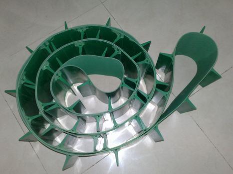 PVC挡板输送带1